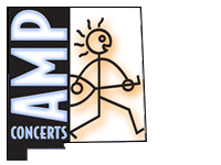 The logo of AMP Concerts